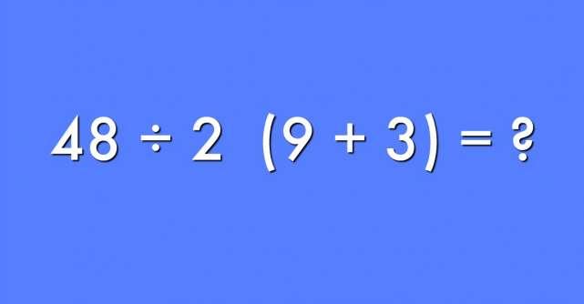 Care este raspunsul corect la aceasta ecuatie?