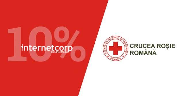 Donăm 10% din campaniile de comunicare către Crucea Roșie Română!