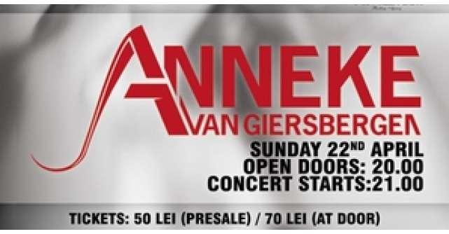 Anneke Van Giersbergen - live concert @ The Silver Church Club