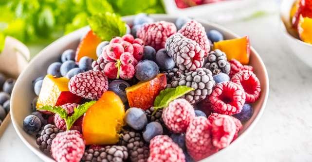 Demontarea miturilor despre alimentele congelate