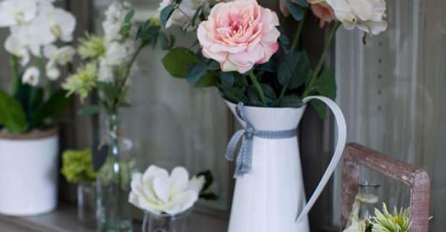 4 aranjamente florale de nunta, inedite, ce pot fi folosite si in locuinta