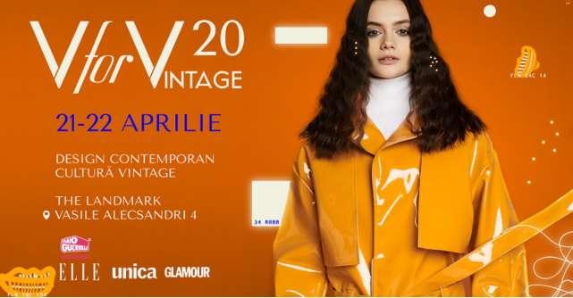 V for Vintage te conectează la designul contemporan și cultura vintage