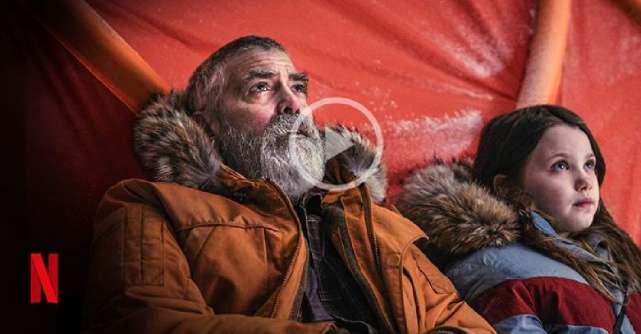 Vezi aici trailerul final The Midnight Sky cu George Clooney