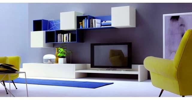Inspiratie de vara: piese de mobilier si accesorii in culoarea albastru