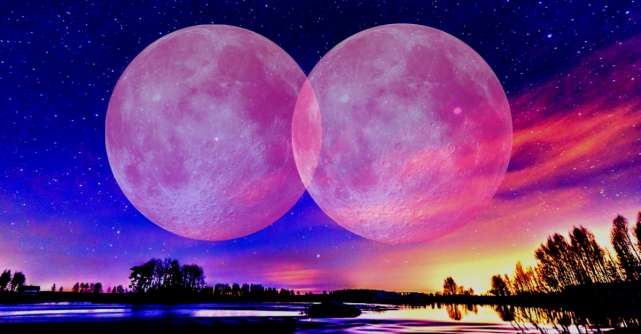 Luna Plina si Luna Albastra in Martie. Pregateste-te pentru o perioada plina de energie si schimbari pozitive