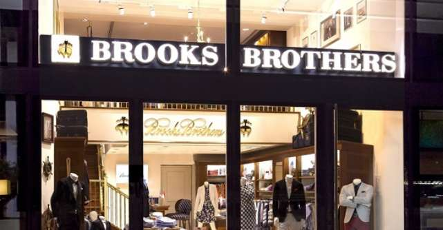 Brooks Brothers intra in Romania