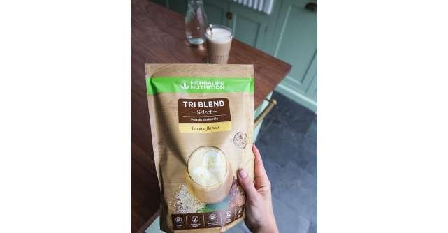 """Herbalife Nutrition intră pe piața produselor de wellbeing prin lansarea """"Tri Blend Select"""""""