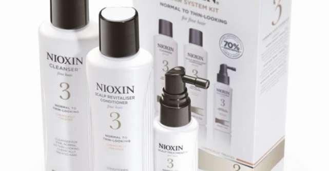 Nioxin - Solutii pentru parul subtire