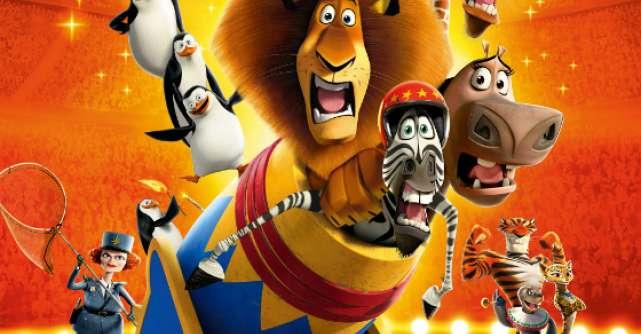 Premiera: Madagascar 3, Fugariti prin Europa 3D