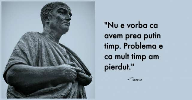 Lecții importante de la Seneca: Citate după care să te ghidezi în viață