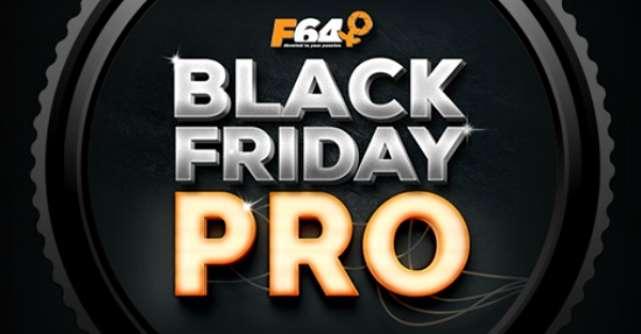 Black Friday Pro 2017 la F64 cu discounturi de pana la 50%