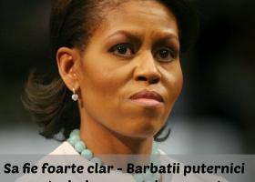 De dat mai departe: Michelle Obama FACE ISTORIE cu un discurs memorabil