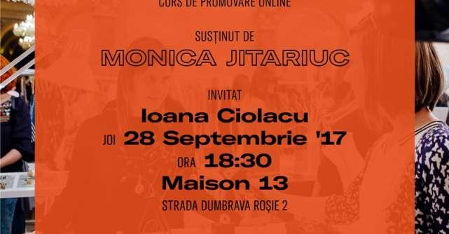 Monica Jitariuc si Ioana Ciolacu, speakeri la cel de-al doilea workshop Designerul ca antreprenor