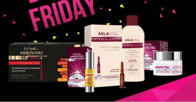 Farmec participă la campania Black Friday și vine cu noi oferte și surprize pentru consumatori
