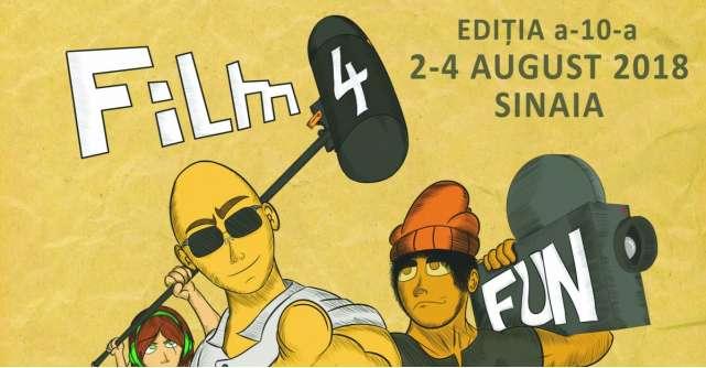 Festivalul 'Film 4 Fun', o editie aniversara care vine cu multe suprize