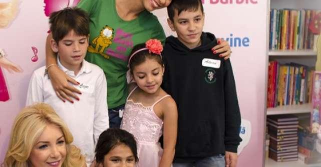 Sun Plaza Shopping Center si Cristina Herea au adus zambetul pe buzele copiilor din cadrul Asociatiei