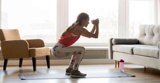 3 tipuri de exerciții pe care le poți face acasă