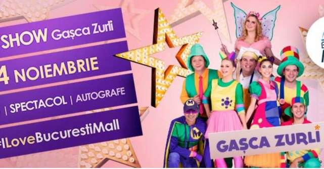 Super concert Gașca Zurli la București MALL – VITAN