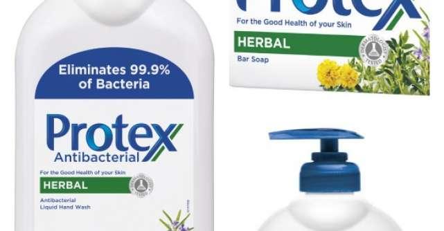 Gama Protex Herbal se imbogateste cu un nou produs, pentru o actiune mai puternica impotriva bacteriilor
