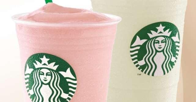 Incantarea acestei veri - noile arome Yogurt Frappuccino de la Starbucks