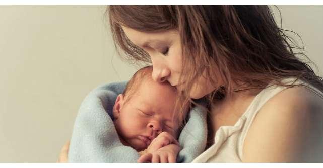 La trei luni de la moartea sotului sau, aceasta femeie a nascut un baietel. O poveste INCREDIBILA