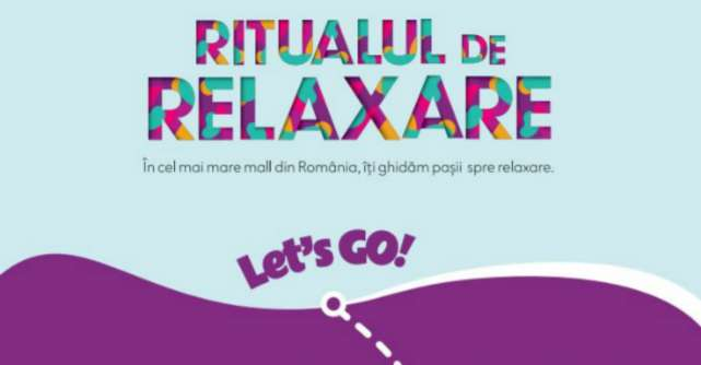 Cel mai mare mall cu ritual de relaxare inclus!