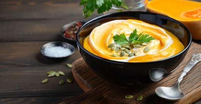 Supe-creme de legume, perfecte pentru sezonul rece