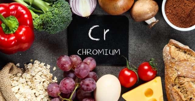 Alimente bogate în CROM – un mineral esențial sănătății