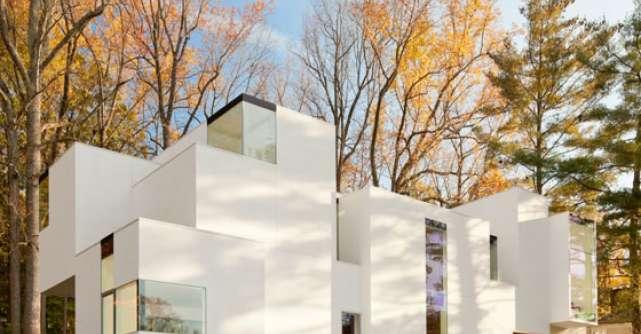 Case spectaculoase: Casa contemporana NaCl
