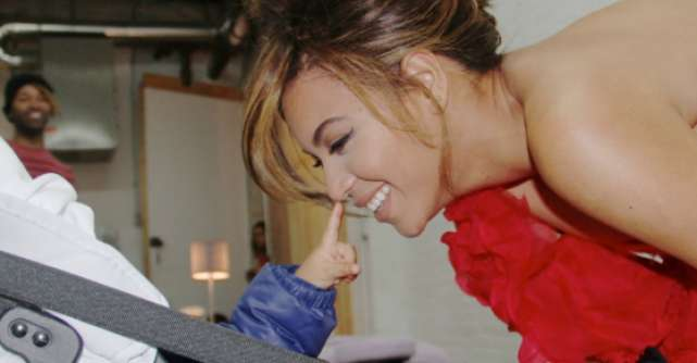 Foto: La un an si 5 luni poarta deja tocuri. Fiica lui Beyonce este o diva!