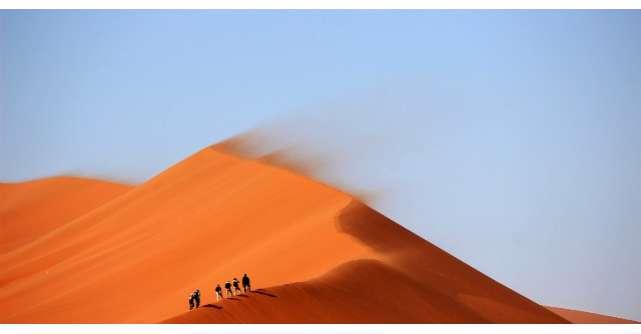 Poveste cu morala: Femeia ratacita in desert