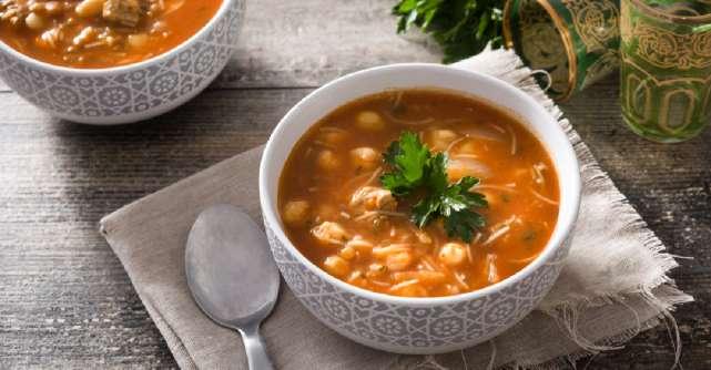 Harira, supa marocana perfecta pentru restul iernii: Te incalzeste instant si e plina de nutrienti!