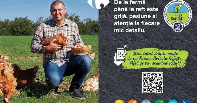 Carrefour România implementează în premierătehnologia blockchain în sectorul alimentar