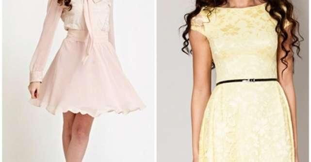 Cele mai frumoase rochite pastel
