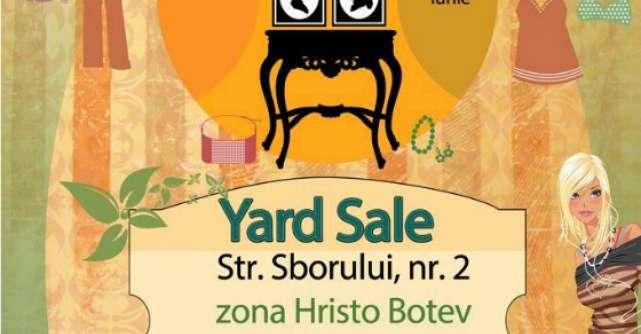 Prima editie Yard Sale de vara din acest an!