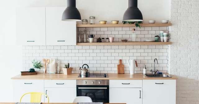 5 idei pentru amenajarea unei bucătării de dimensiuni mici