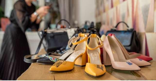 Noua colecție Lyria FW18/19: #PovesteaTaPictată pe genți și pantofi de piele