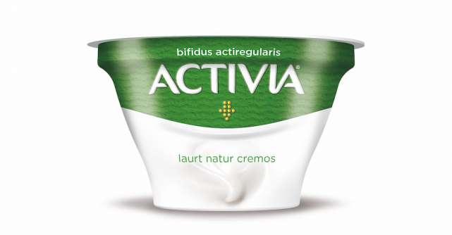 Danone lansează iaurturile Activia Natur Cremos