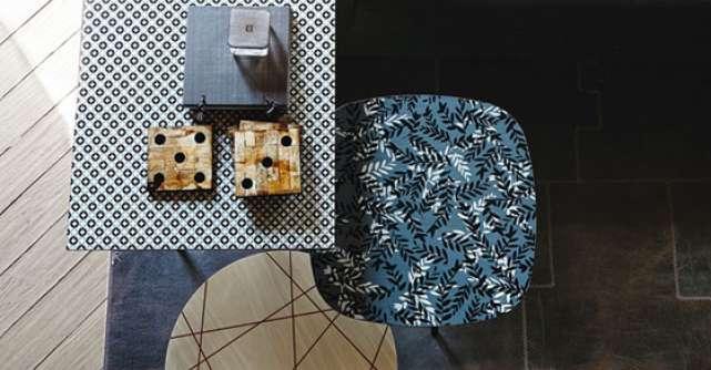 Tendinte: mobilier si accesorii cu motive geometrice