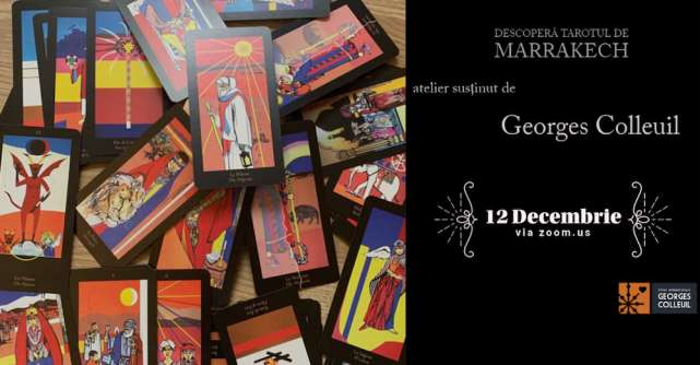 ReIMAGINE HUB - Descoperă Tarotul de Marrakech!