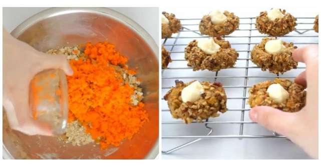 Adauga morcovul ras peste faina si face cele mai bune prajiturele