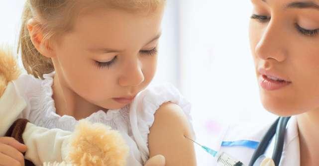 Programul de vaccinare a copiilor intra in normal