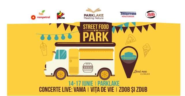 ParkLake găzduiește gusturi alese: Street Food in the Park