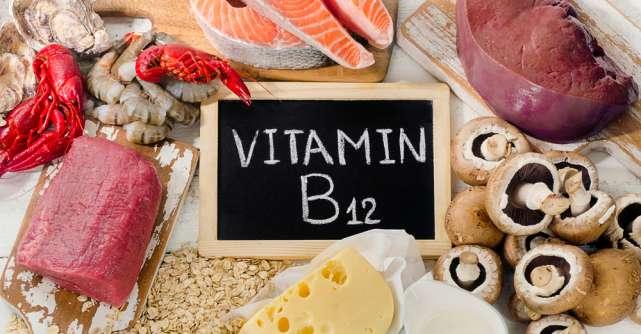 Principalele simptome ale deficitului de vitamina B12
