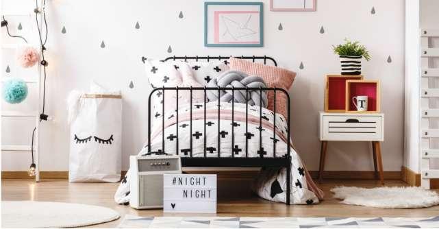 Lenjerii de pat cu cele mai simpatice imprimeuri pentru zile senine