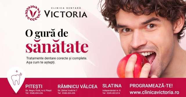 La Clinica Dentara Victoria o gura de sanatate  incepe cu un plan de tratament stomatologic gratuit
