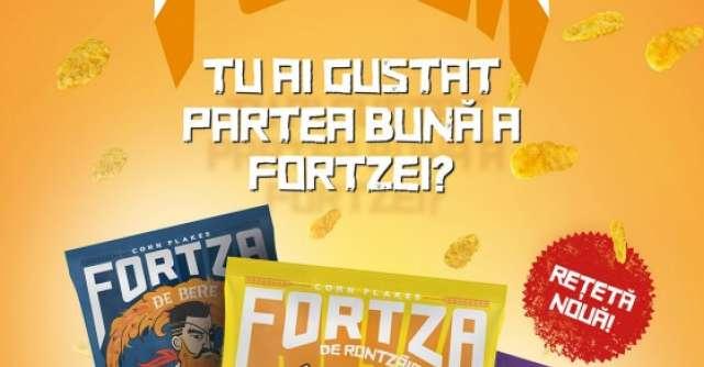 Fortza, primii fulgi de porumb din Romania, se reinventeaza!