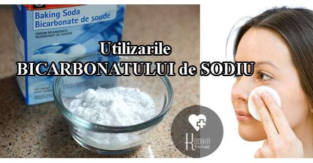 7 Utilizari INCREDIBILE ale bicarbonatului de sodiu – pentru frumusete