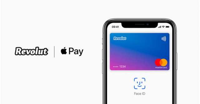 Revolut este disponibil cu Apple Pay în România