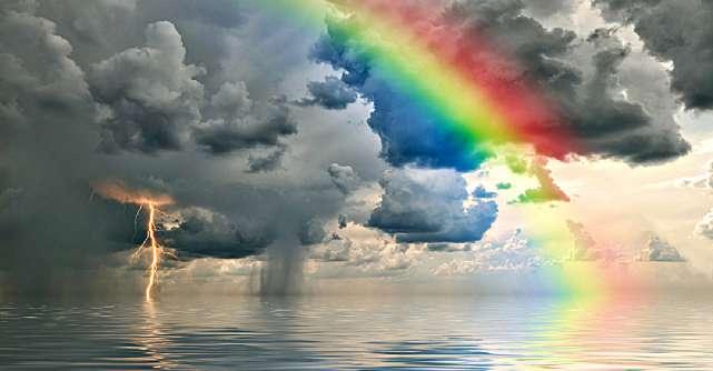 Cum să vezi curcubeul când sufletul ți-e înconjurat de întuneric și de furtuni